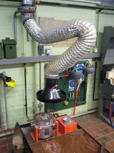 casting extraction system
