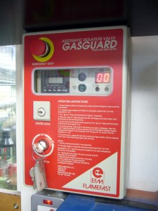 Gas Guard safety system