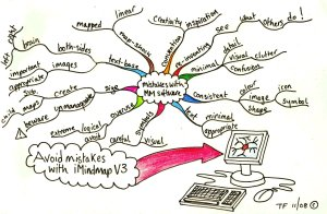 Mistakes that can be avoided with iMindMap v3